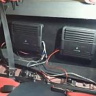 "Installing Custom Box for 2 Rockford Fosgate Punch P3 12"" P3D412 500W RMS powered by 2 Alpine M by Ninja1990"