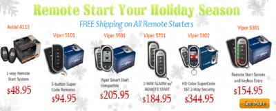 Avenue Sound Viper Remote Starter Procrastinator's Sale!