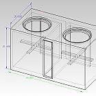 DD9512i 5 cubes net