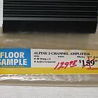 Alpine 3522s - Display Model