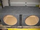 Dual 15 sub box