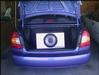 Hyundai Accent with a vdo dayton sub/speakers and Clarion 4x150w RMS amp